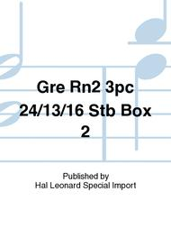 Gre Rn2 3pc 24/13/16 Stb Box 2