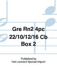 Gre Rn2 4pc 22/10/12/16 Cb Box 2