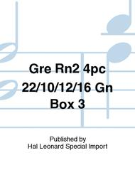 Gre Rn2 4pc 22/10/12/16 Gn Box 3