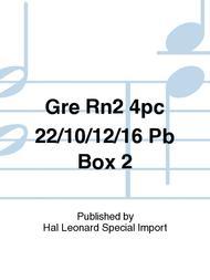 Gre Rn2 4pc 22/10/12/16 Pb Box 2