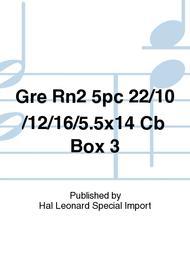 Gre Rn2 5pc 22/10/12/16/5.5x14 Cb Box 3