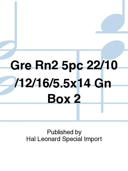 Gre Rn2 5pc 22/10/12/16/5.5x14 Gn Box 2