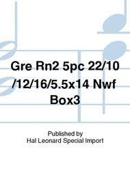 Gre Rn2 5pc 22/10/12/16/5.5x14 Nwf Box3