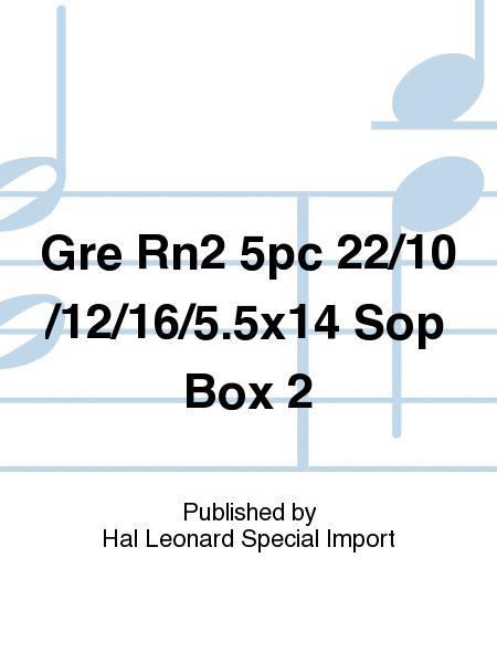 Gre Rn2 5pc 22/10/12/16/5.5x14 Sop Box 2