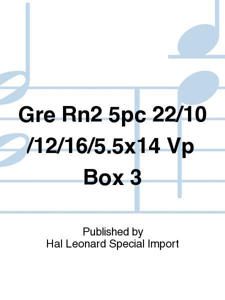Gre Rn2 5pc 22/10/12/16/5.5x14 Vp Box 3