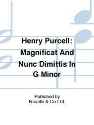 Magnificat And Nunc Dimittis In G Minor