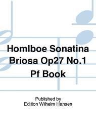 Sonatina Briosa Op27 No.1