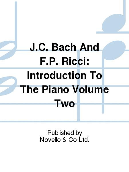 Introduction To The Piano Volume Two