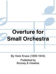Overture for Small Orchestra