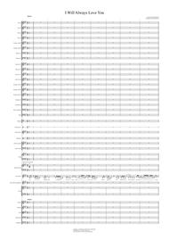 I Will Always Love You - Vocal with Pops Orchestra Key of A