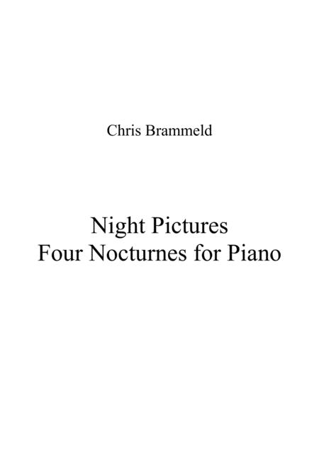 Night Pictures - Four Nocturnes for Piano