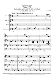 Shake It Off (String Quartet)