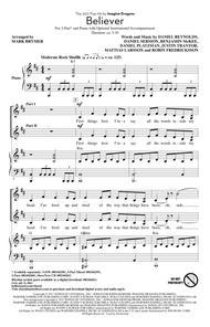 Download Believer (arr  Mark Brymer) Sheet Music By Imagine
