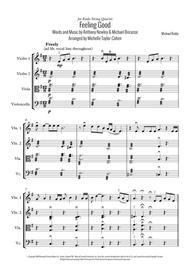 Feeling Good (String Quartet)