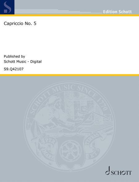 Capriccio No. 5