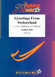Greetings from switzerland sheet music by lothar pelz sheet music plus greetings from switzerland m4hsunfo