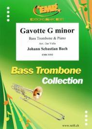 Gavotte G minor