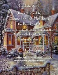 There's No Place Like Home for the Holidays (for Brass Quintet)