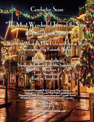 The Most Wonderful Time of the Year (for Saxophone Quartet SATB or AATB)