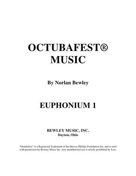 Octubafest Euphonium 1 Bass Clef Part Book - Tuba/Euphonium Quartet