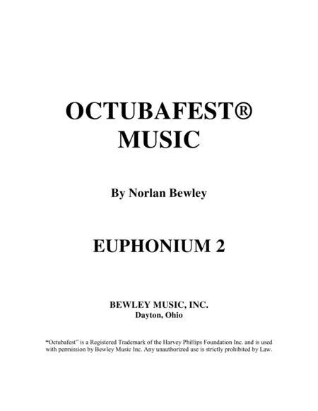 Octubafest Euphonium 2 Bass Clef Part Book - Tuba/Euphonium Quartet