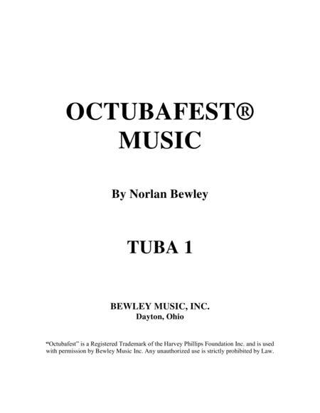 Octubafest Tuba 1 Bass Clef Part Book - Tuba/Euphonium Quartet