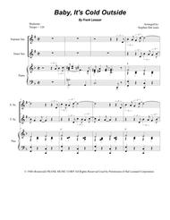 Baby, It's Cold Outside (Duet for Soprano and Tenor Saxophone)