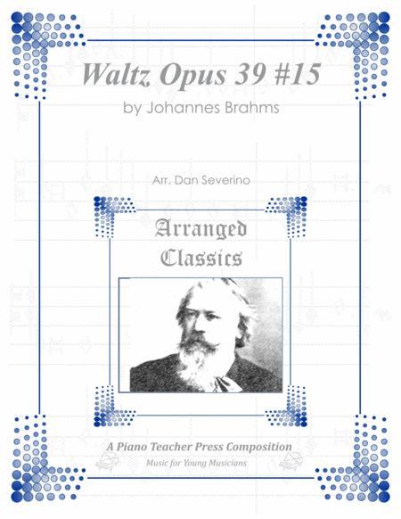 Brahms - Waltz in Ab (Opus 39 #15)