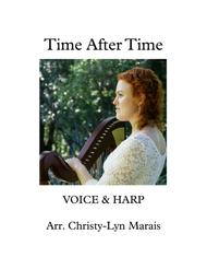 Time After Time (harp, voice) C major