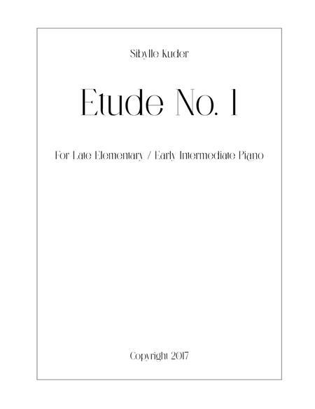 Etude No. 1 for Solo Piano