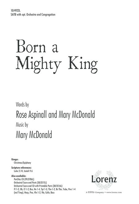 Born a Mighty King