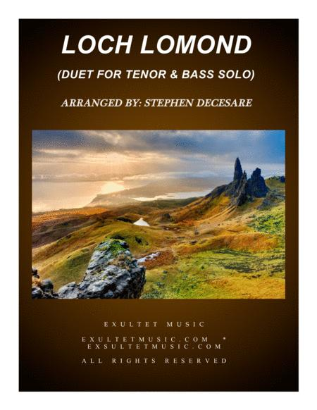 Loch Lomond (Duet for Tenor and Bass Solo)