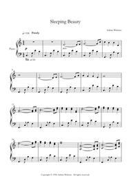 Sleeping Beauty - CrusaderBeach - Beautiful Relaxing Piano Solo