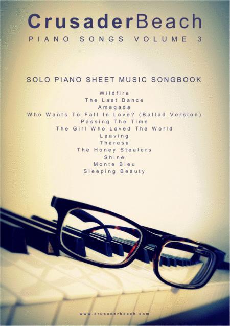 Piano Songs Vol 3 - CrusaderBeach - Piano Solo Songbook