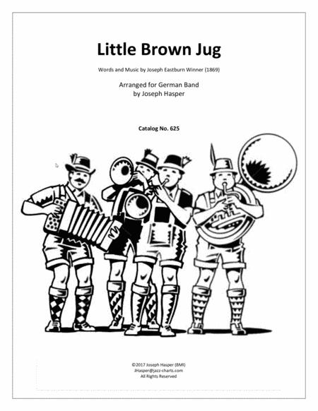 Little Brown Jug (for German Band)