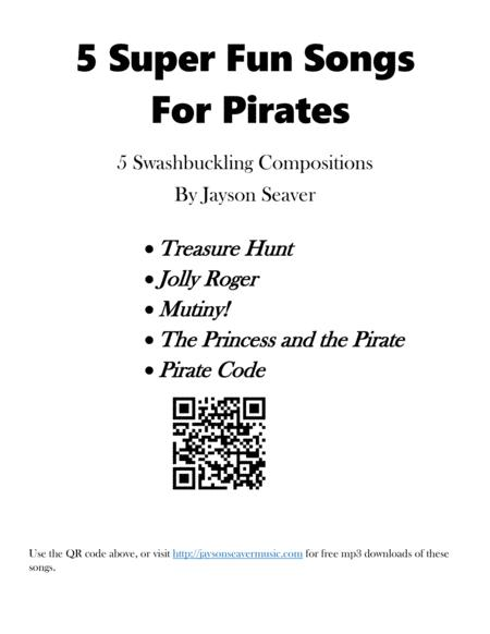 5 Super Fun Songs for Pirates