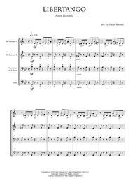 Libertango for Brass Quartet