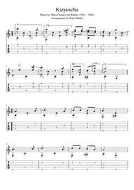 Katyusha (Standard Notation and TAB)