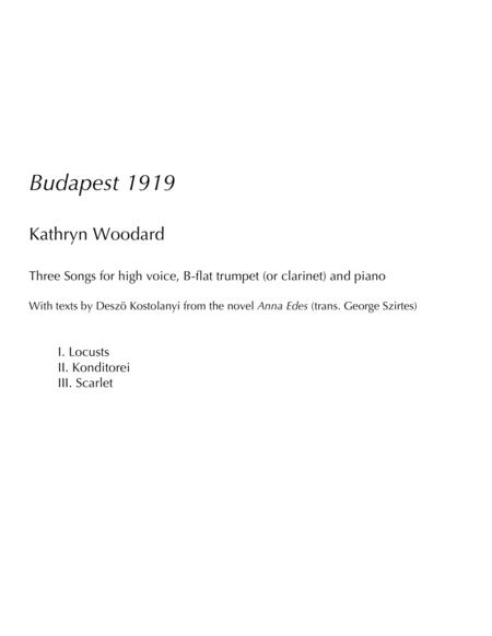 Budapest 1919 (song cycle)