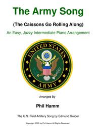 The Army Song (The Caissons Go Rolling Along)