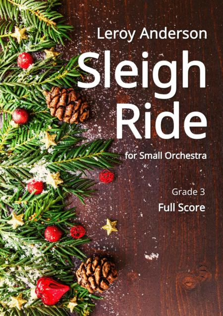 Sleigh Ride for Small Orchestra - Full score