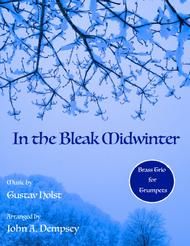 In the Bleak Midwinter (Brass Trio for Trumpet)