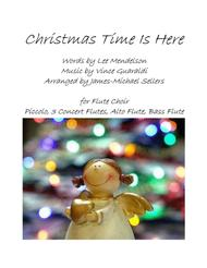 Christmas Time Is Here for Flute Choir