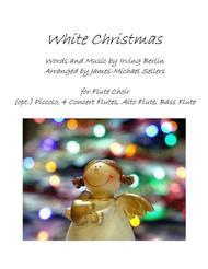 White Christmas for Flute Choir