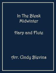 In the Bleak Midwinter, arranged for Harp and Flute