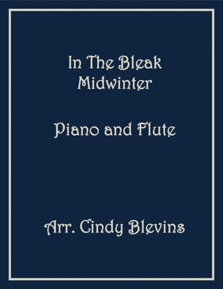 In the Bleak Midwinter, arranged for Piano and Flute