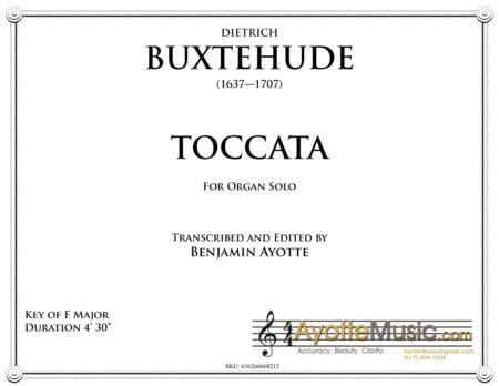 Toccata in F Major, BuxWV 157