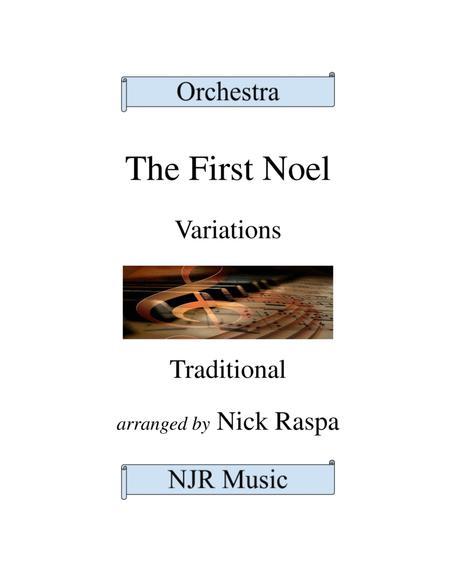 The First Noel (Variations for Full Orchestra) Full Set