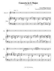 Telemann Viola Concerto in G