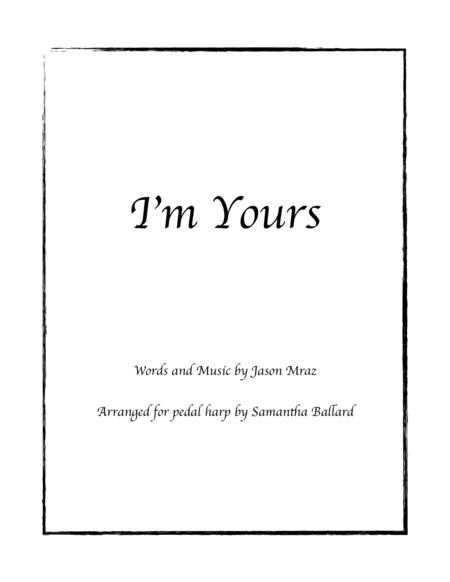 I'm Yours - Harp Solo